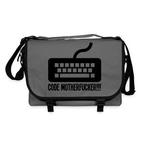 Code Motherfucker - Laptop - Shoulder Bag