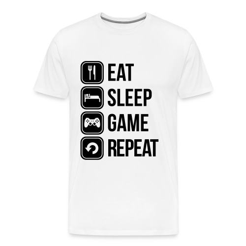 t-shirt geek life - T-shirt Premium Homme
