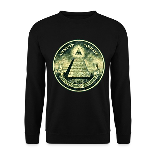 pull logo illuminati  - Sweat-shirt Homme