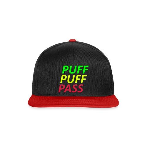 Puff Puff - Snapback Cap