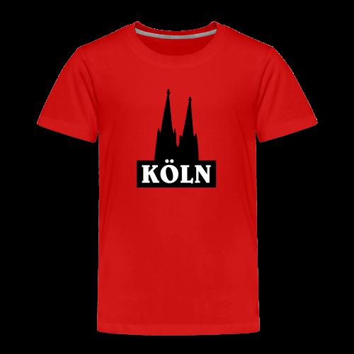 Köln Logo Kinder T-Shirt - Kinder Premium T-Shirt