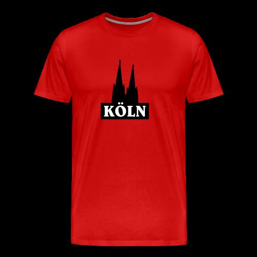 Köln Logo S-5XL T-Shirt - Männer Premium T-Shirt