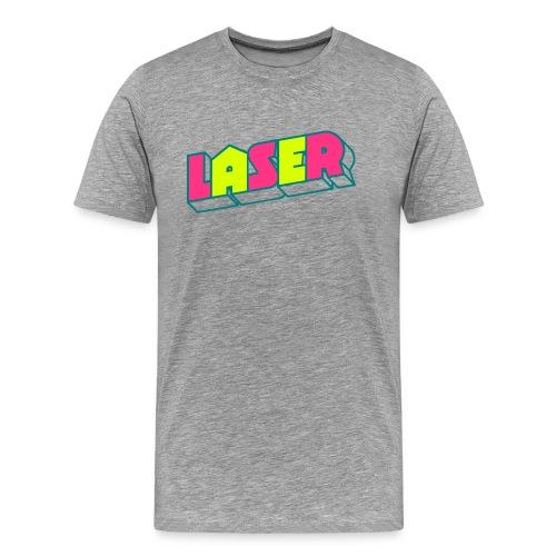 Neon »Laser« (Razor) - Männer Premium T-Shirt