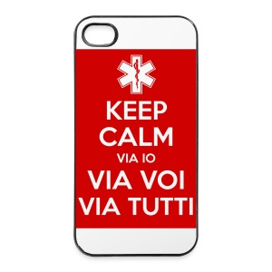 cover  4/4s keep calm DAE - Custodia rigida per iPhone 4/4s