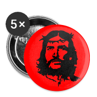 Buttons & Anstecker ~ Buttons klein 25 mm ~ Che Jesus Buttons
