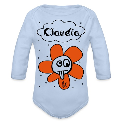 Little Flower McKoy Claudia - Body orgánico de manga larga para bebé