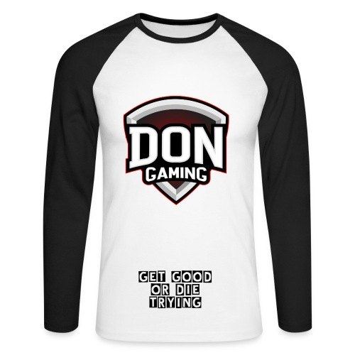 Official DoN Top - Men's Long Sleeve Baseball T-Shirt