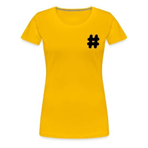 T-SHIRT DIESE  LOGO FEMME  - T-shirt Premium Femme