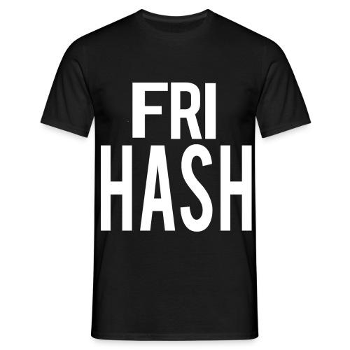 Fri Hash T-Shirten - Herre-T-shirt