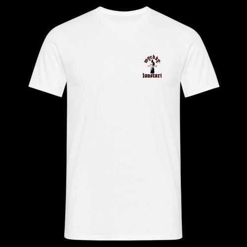 T-paita (vaalea) - Miesten t-paita