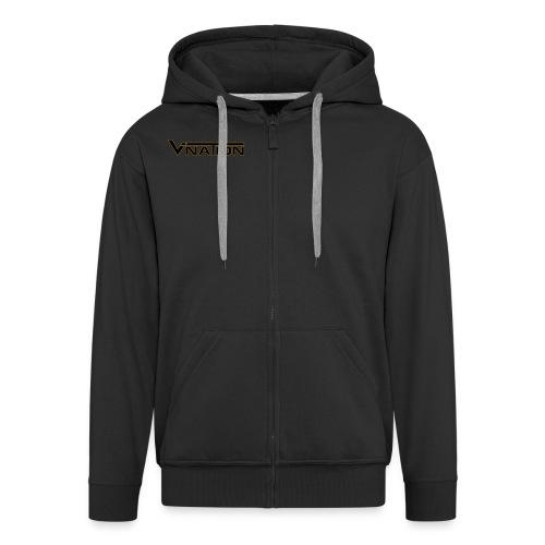 Vination Zip-Pullover - Männer Premium Kapuzenjacke