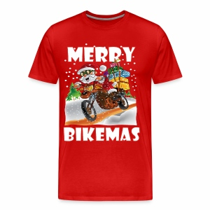 Merry Bikemas - Men's Premium T-Shirt