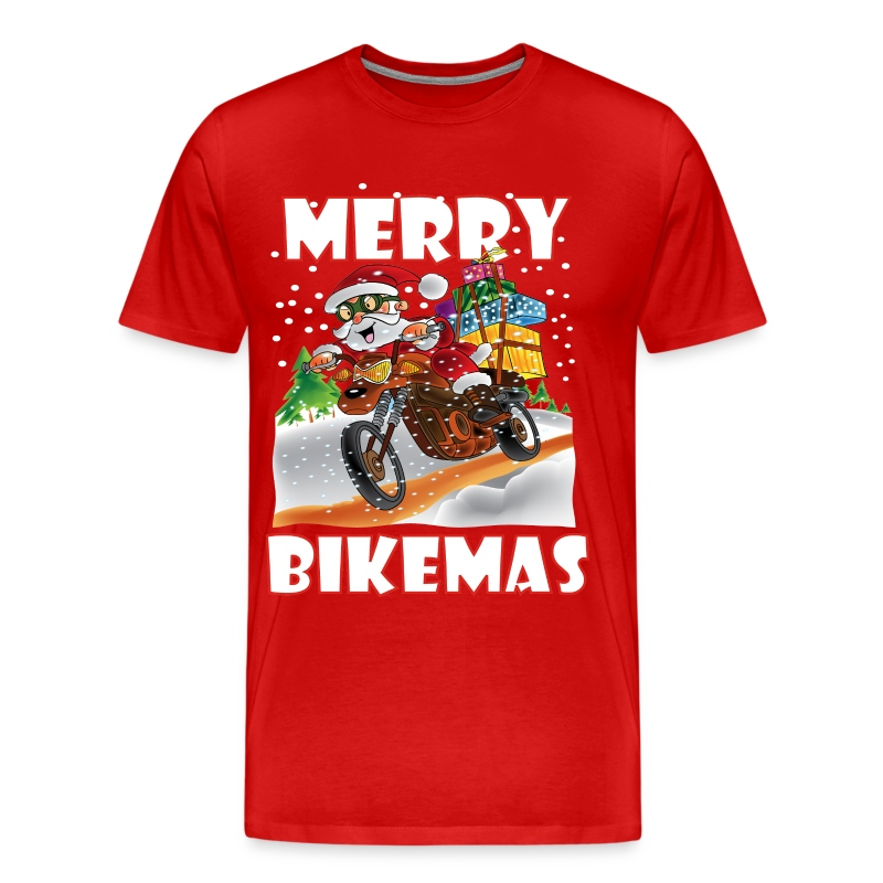 Merry Bikemas - Men's Premium T-Shirt