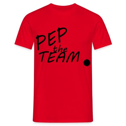 T-Shirt - Pep The Team in Ror - Männer T-Shirt