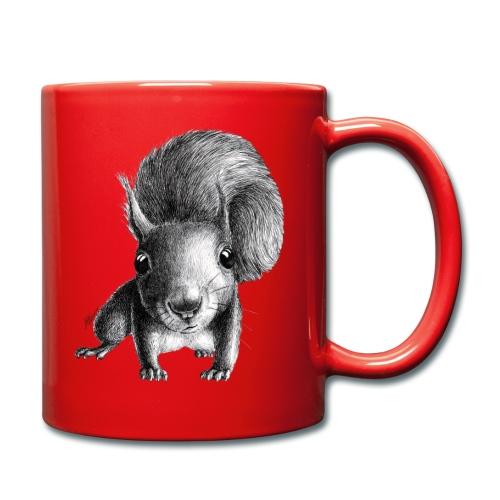 Eichhörnchen - Tasse einfarbig