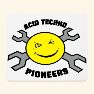 Acid Techno Pioneers  - Mouse Pad (horizontal)