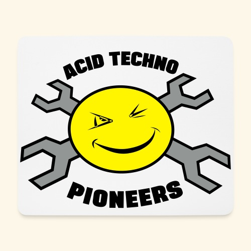 Acid Techno Pioneers  - Mouse Pad (horizontal)