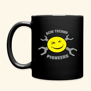 Acid Techno Pioneers Full Colour Mug LOGO BOTH SIDES - Full Colour Mug