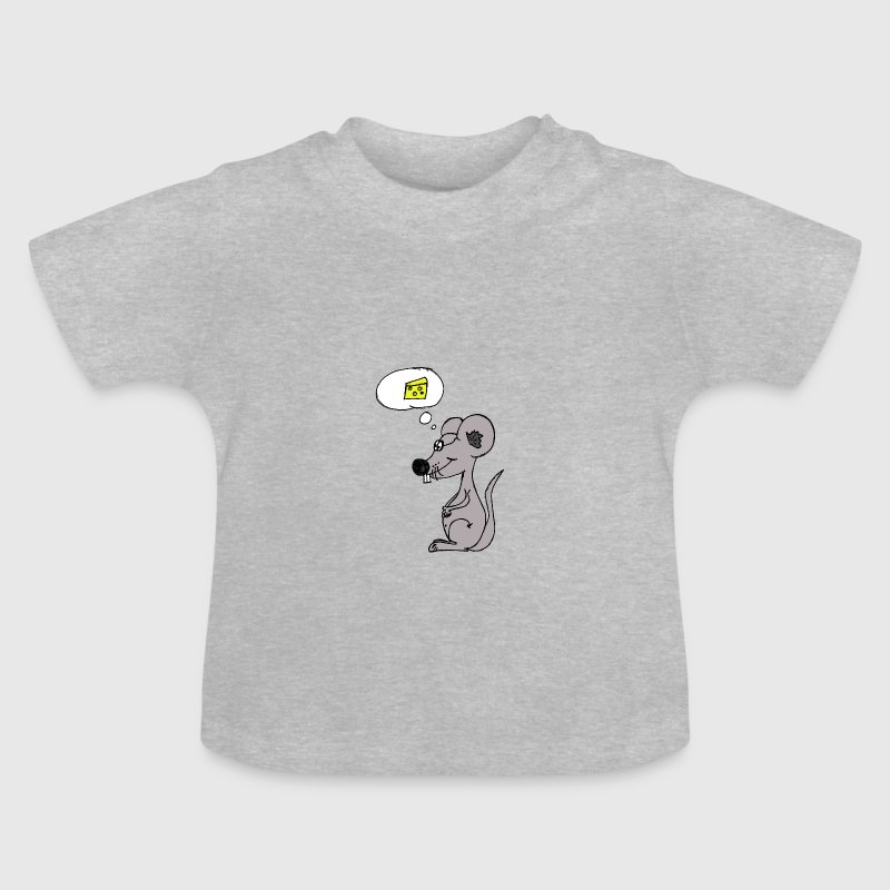 mouse thinking of cheese Shirts - Baby T-Shirt
