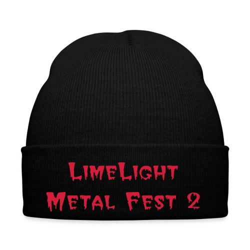 Beany LimeLight Metal Fest 2 - Winter Hat