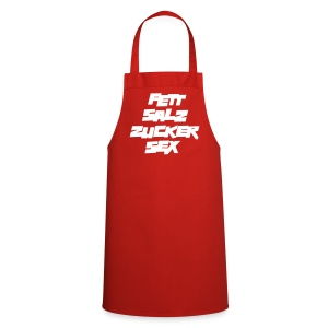 Kochschürze Universal FETT SALZ ZUCKER SEX - Kochschürze