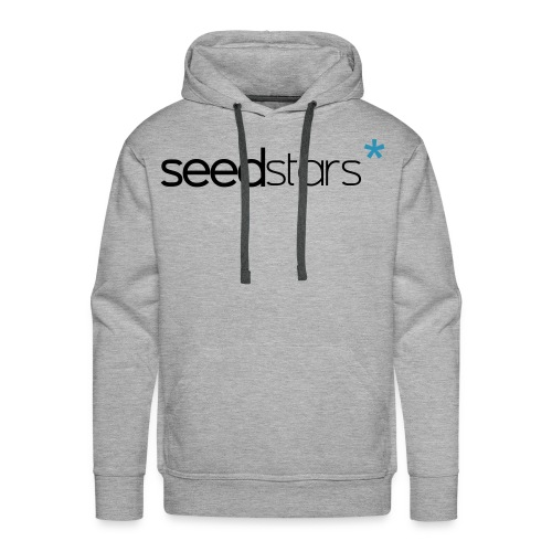 SEEDSTARS* GREY HOOD MALE - Men's Premium Hoodie
