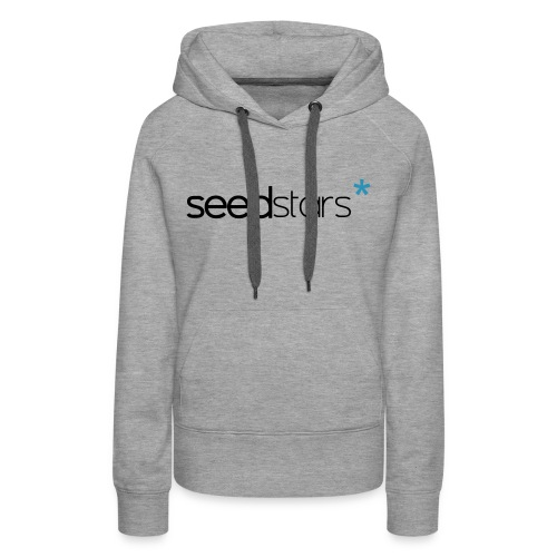 SEEDSTARS* GREY HOOD FEMALE - Women's Premium Hoodie