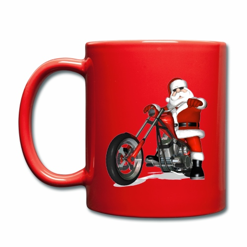 Biker Christmas Mug - Full Colour Mug