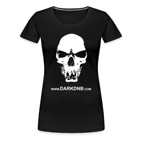 Dark Skull / DnB Women's T-Shirt - Women's Premium T-Shirt