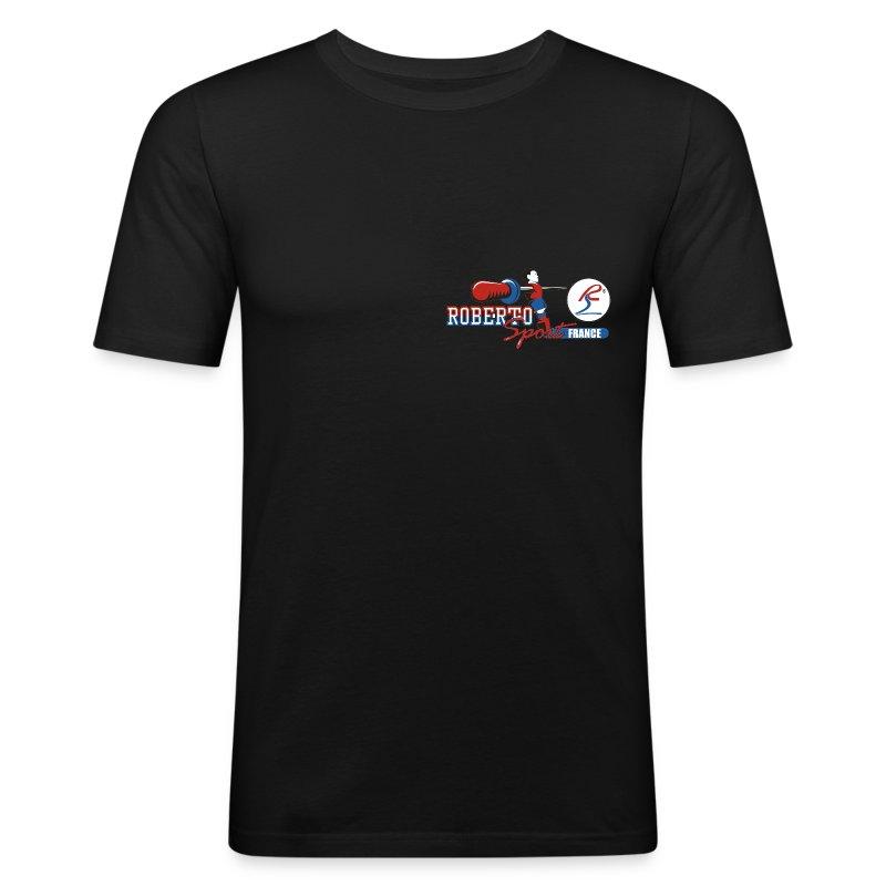 detoure.png - Tee shirt près du corps Homme