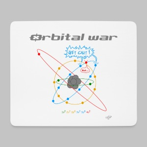 Tapis de souris (mouse pad) Orbital War - Mouse Pad (horizontal)