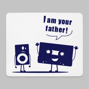 Tapis de souris (mouse pad) I am your father ! - Mouse Pad (horizontal)