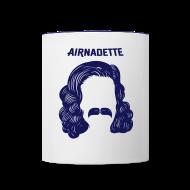 Bouteilles et Tasses ~ Tasse bicolore ~ Tasse Mug - Stache