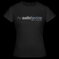 Tee shirts ~ Tee shirt Femme ~ T-shirt Femme col rond AF logo noir