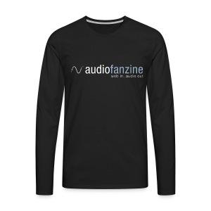 T-shirt manches longues homme AF logo noir - T-shirt manches longues Premium Homme
