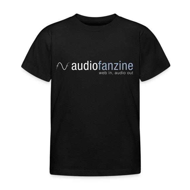 T-shirt Enfant AF logo noir