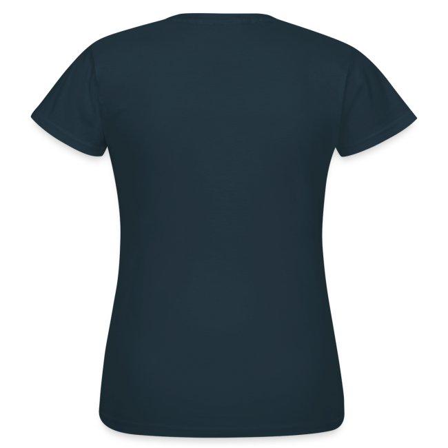 T-shirt Femme AF logo bleu