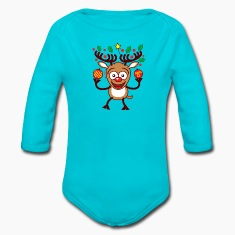 Cool Reindeer Decorating for Christmas Hoodies