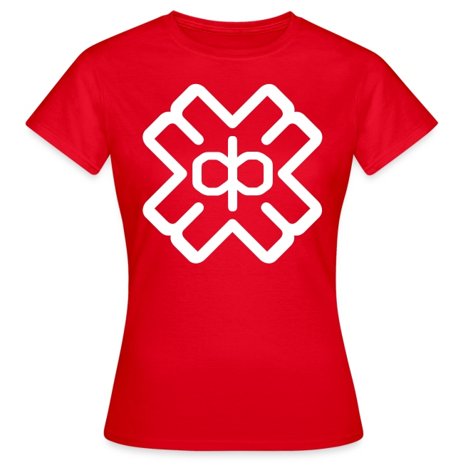 Red Tee White D3EP Logo