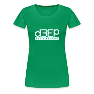 Green Ladies Deep Tee Full text  - Women's Premium T-Shirt