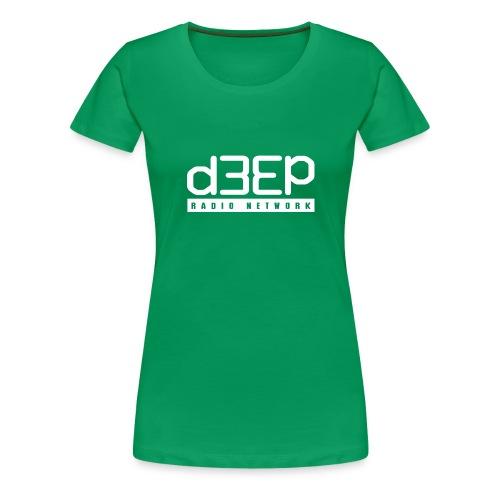 Green Ladies Deep Tee Full text  - Women's Premium T-Shirt