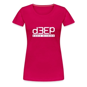 PinkLadies Deep Tee Full text  - Women's Premium T-Shirt