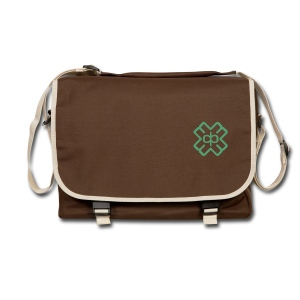 Brown Bag Green D3EP logo - Shoulder Bag