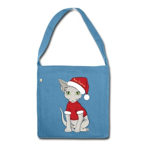Christmas bag - Borsa in materiale riciclato