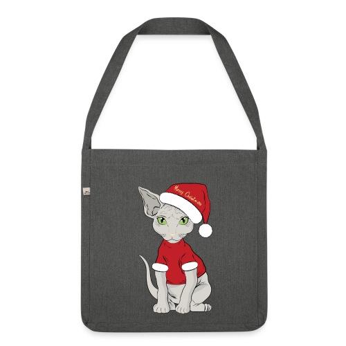 Christmas bag - Borsa in materiale riciclato