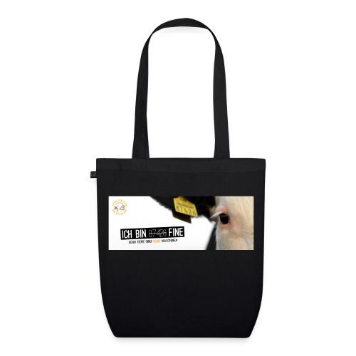 Bio-Tasche Ich bin Fine - Bio-Stoffbeutel
