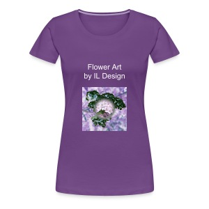 Damenshirt Flower Art - Frauen Premium T-Shirt
