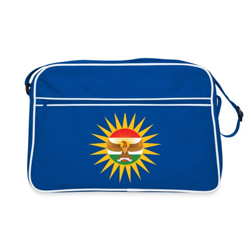 Kurdish Eagle Retro Bag - Retro Tasche