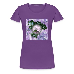 Flower Art - Frauen Premium T-Shirt