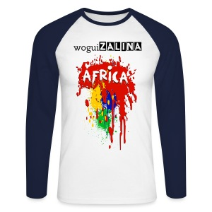 woguizalina Africa - T-shirt baseball manches longues Homme